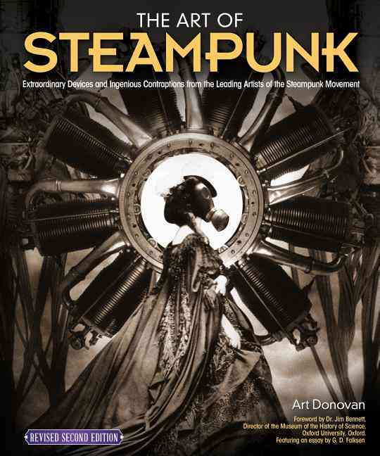 The Art of Steampunk By Donovan, Art